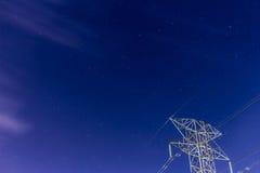 Cielo nocturno estrellado Fotos de archivo