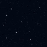 Cielo nocturno inconsútil Fotos de archivo libres de regalías
