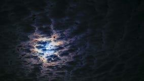 Cielo nocturno Luna Llena metrajes