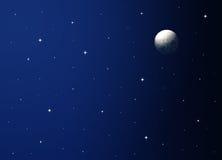Cielo notturno Immagini Stock Libere da Diritti