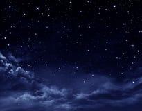 Cielo notturno illustrazione di stock
