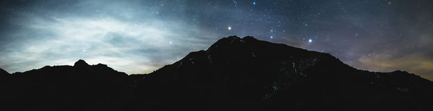 Cielo notturno Immagine Stock Libera da Diritti