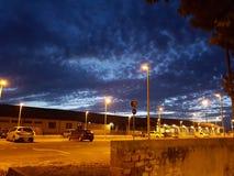 Cielo notturno fotografie stock libere da diritti