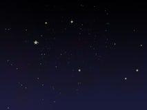 Cielo notturno di fiaba Immagini Stock Libere da Diritti