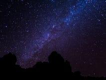 Cielo notturno di Tenerife Fotografie Stock Libere da Diritti
