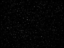 Cielo notturno di vettore delle stelle Fotografie Stock Libere da Diritti
