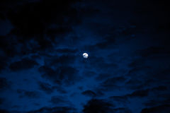 Cielo notturno, fondo di Halloween Fotografie Stock
