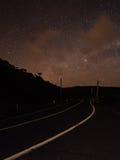 Cielo notturno @ Piha, Nuova Zelanda Fotografia Stock Libera da Diritti