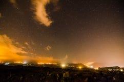 Cielo notturno stellato immagine stock libera da diritti