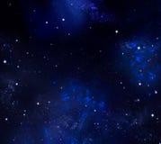 Cielo notturno stellato illustrazione vettoriale