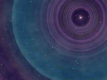 Cielo notturno stellato Fotografia Stock Libera da Diritti