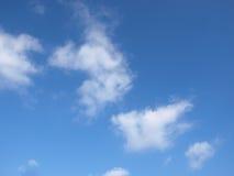 Cielo, nubes, fondo Fotos de archivo
