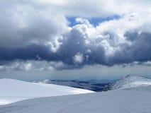 Cielo nublado Imágenes de archivo libres de regalías