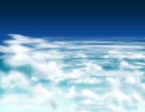 Cielo nublado   Imagenes de archivo