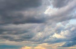 Cielo nublado Fotografía de archivo