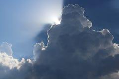 Cielo nublado Fotografía de archivo libre de regalías