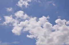 Cielo nublado Foto de archivo libre de regalías