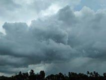 Cielo nublado asombroso imagen de archivo libre de regalías