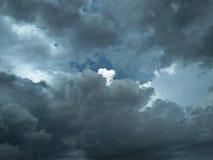 Cielo nublado asombroso fotos de archivo
