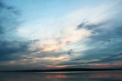 Cielo nublado oscuro Fotos de archivo