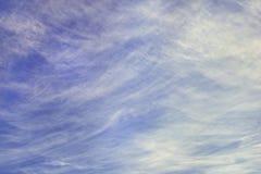Cielo nublado soleado, textura, nubes extrañas fotografía de archivo