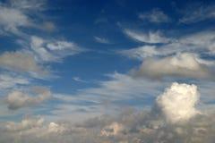 Cielo nuvoloso 1 Fotografie Stock