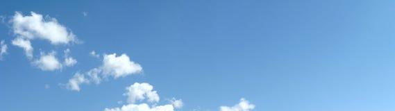 Cielo nuvoloso Fotografia Stock