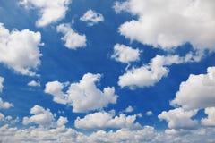 Cielo nuvoloso. Fotografia Stock