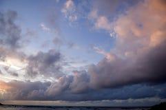 Cielo nuvoloso immagini stock libere da diritti