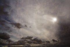 Cielo nuvoloso 1 immagine stock libera da diritti