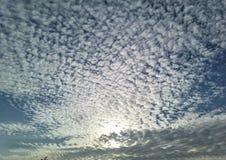 Cielo nuvoloso di Marvelus Fotografia Stock Libera da Diritti