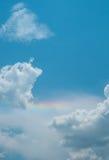 Cielo nuvoloso prima della tempesta Fotografia Stock Libera da Diritti