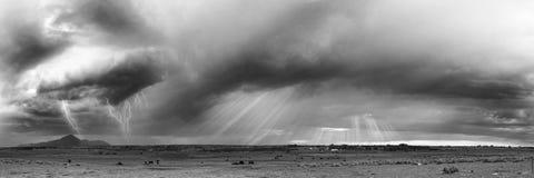 Cielo occidental foto de archivo libre de regalías