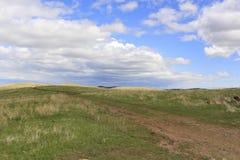Cielo occidental de la pradera Foto de archivo