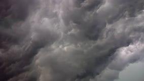 Cielo oscuro de la nube Imagen de archivo