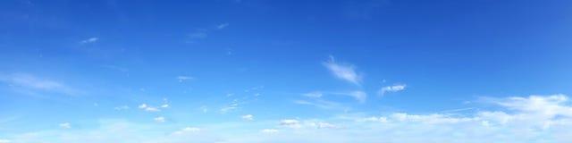 Cielo panorámico Foto de archivo libre de regalías