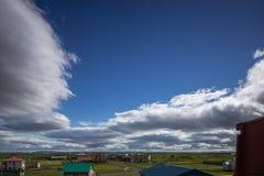 Cielo parzialmente nuvoloso più Immagini Stock Libere da Diritti