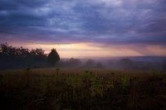 Cielo pesado de la tormenta Fotos de archivo