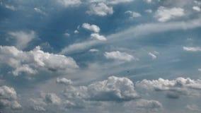 Cielo in pieno delle nuvole fotografia stock