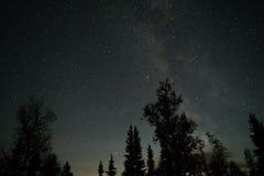 Cielo in pieno delle stelle Fotografie Stock