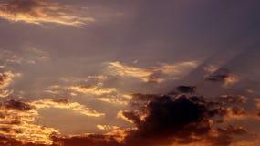 Cielo in primavera Fotografia Stock