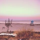 Cielo rosado Imagen de archivo
