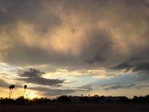 Cielo rosado Fotografía de archivo