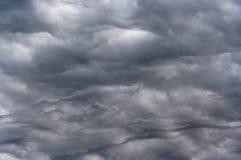 Cielo scuro prima di pioggia Fotografia Stock Libera da Diritti