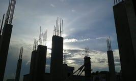 Cielo sobre la ventana Imagen de archivo