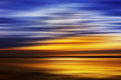 Cielo sopra acqua Fotografia Stock Libera da Diritti