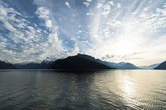 Cielo sopra il lago Immagine Stock Libera da Diritti
