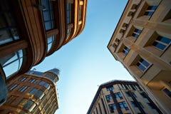 Cielo sopra la città Fotografia Stock Libera da Diritti