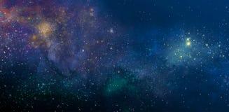 Cielo stellato Immagini Stock