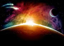 Cielo stellato Immagine Stock Libera da Diritti